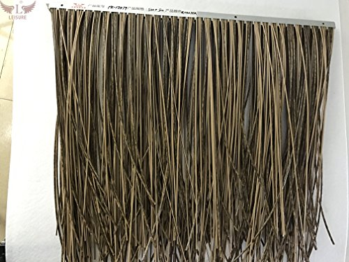 Leisure Thatch synthetic artificial thatch PE-YZ8879 (Price for 10 square meter, total 80 pieces) by Leisure Thatch (Image #5)