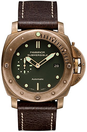 Panerai Replica Watches - Luxury Italy 1950 Design High End Unique edition Submersible BRONZO 3 Days Automatic P.9000 Watch 00382 47MM