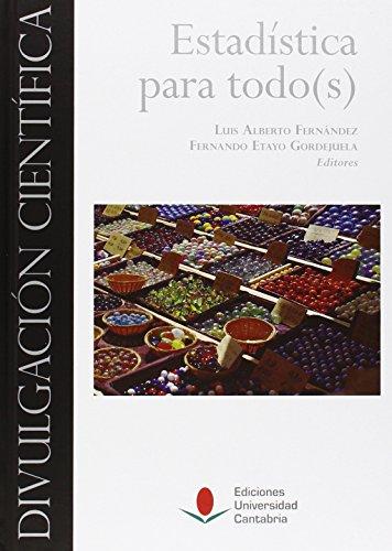 Descargar Libro Estadística Para Todo Luis Alberto Fernández