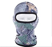 Hillento Outdoor Cycling Fishing Hunting Jungle Camouflage Headgear Bionic face mask Sunscreen Breathable Wick