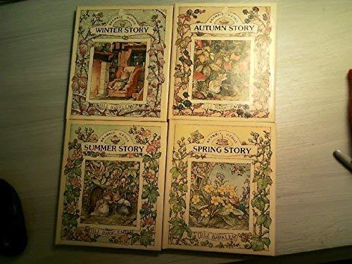 BRAMBLY HEDGE 4 SEASON BOX SET (SPRING, SUMMER, WINTER, FALL) (The Four Seasons Winter Spring Summer Fall)