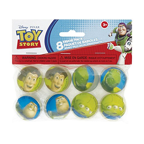 Toy Story Bouncy Ball Party Favors, 8ct