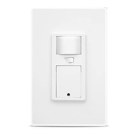 Amazon.com: Interruptor de luz de empuje WiFi, sensor de ...