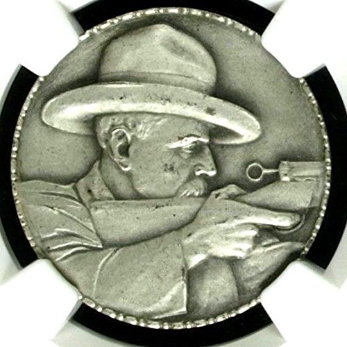 1925 CH Swiss 1925 RARE Silver Medal Shooting Fest St. Ga coin Good
