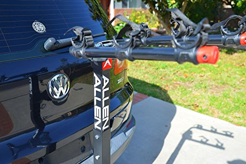 Allen Sports Deluxe Locking Quick Release 3-Bike Carrier for 2 in. & 1 4 in. Hitch by Allen Sports (Image #5)