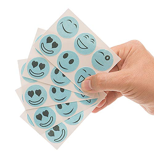 Mosquito and Bug Repellent Smiley Patches - 72 Count Simply Apply to Skin and Clothes - Adult, Kid and Pet-Friendly - Convenient for Travel, Outdoor Concerts, Camping and Barbeques
