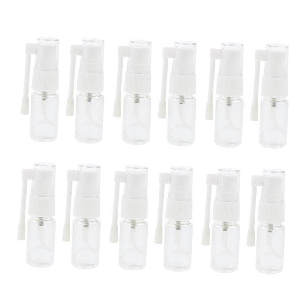 Sharplace 12 Piezas Botella de Pulverización de Agua Envase de Cosméticos Tubos Botella de Viaje - 30ml non-brand