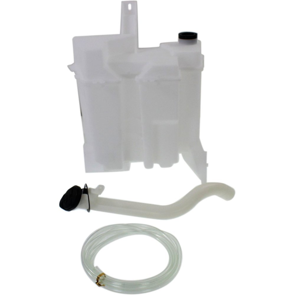 Evan-Fischer EVA162062214220 Washer Reservoir Windshield Expansion Tank With Washer Pump, Filler Neck, Hose, and Cap