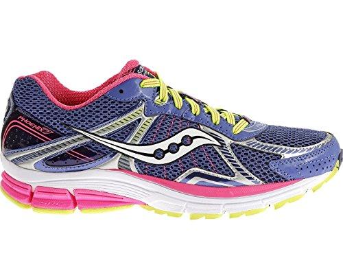 SAUCONY Phoenix 7 Zapatilla de running para mujer, Púrpura/Rosa, 37.5: Amazon.es: Zapatos y complementos