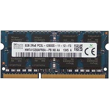 LOT OF 2 X HYNIX 8GB DDR3 Laptop Ram Memory 2Rx8 PC3L-12800S HMT41GS6BFR8A-PB
