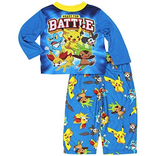 Pokemon Boys Top with Flannel Pants Pajamas Photo - Pokemon Gaming