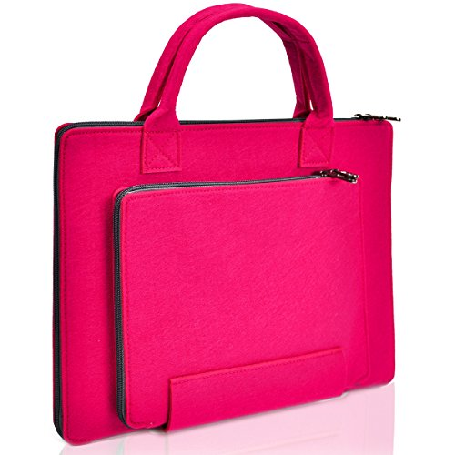 "Unik Case Felt Laptop Sleeve Bag Case Cover for All 13"" 13-I"
