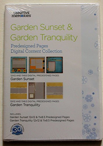 Garden Sunset & Garden Tranquility Digital Content Collection by Creative - Tranquility Set