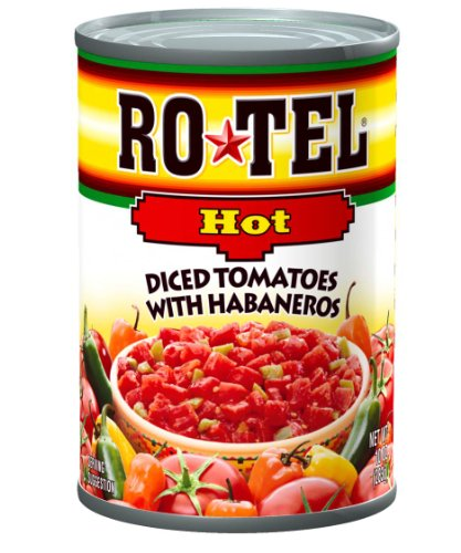 Ro-Tel Diced Tomatoes Hot, 10-Ounce Cans (Pack