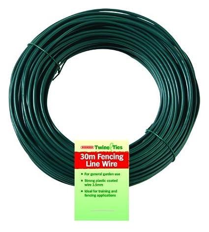 PVC Line Wire 35mm x 30m Amazoncouk Garden Outdoors