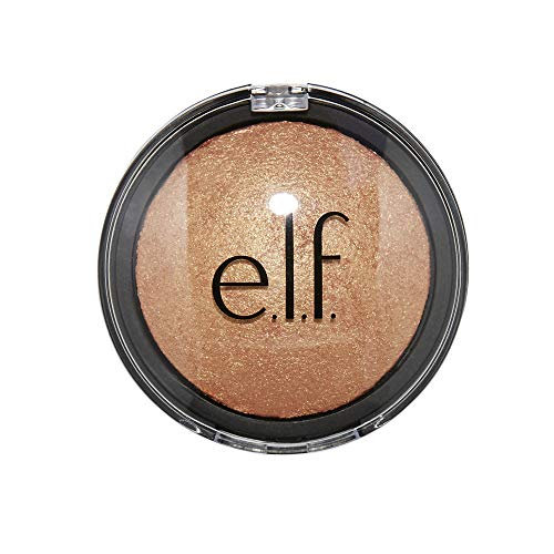 NEW e.l.f. Baked Highlighter in Apricot Glow ELF 83707 Press