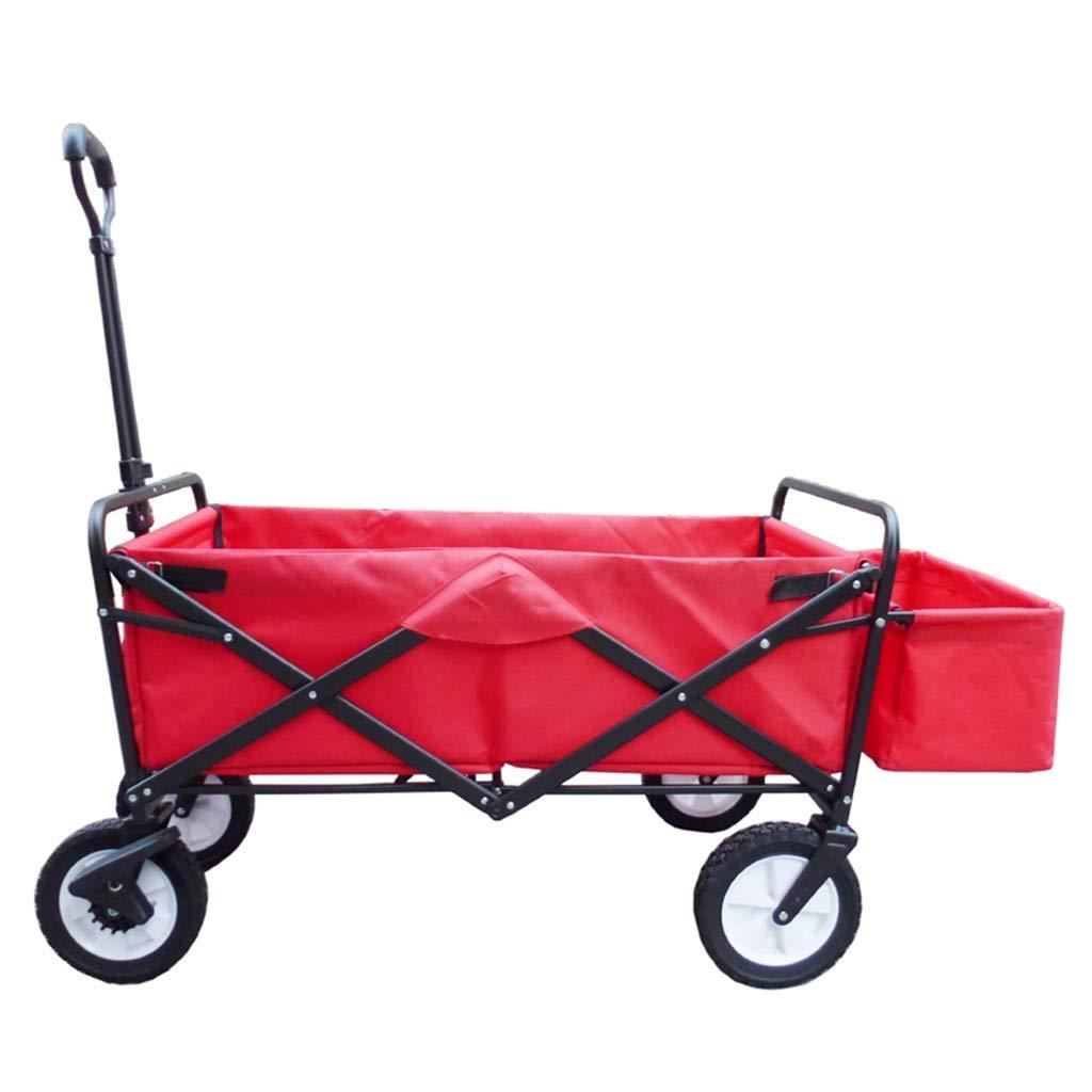 Amazon.com: Carro plegable de 4 ruedas – Carro de acampada ...