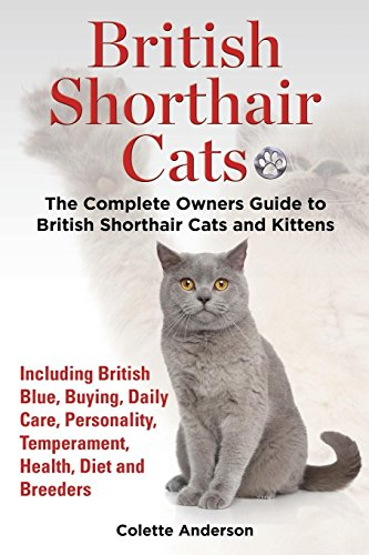 - British Shorthair Cats, The Complete Owners Guide to British Shorthair Cats and Kittens  Including British Blue, Buying, Daily Care, Personality, Temperament, Health, Diet and Breeders