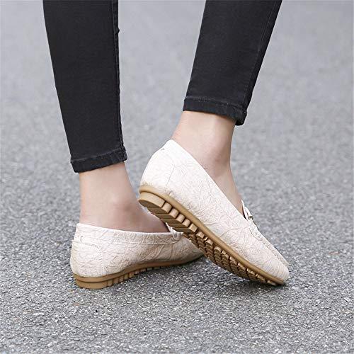 y de Planos cómodos 39 Damas Moda Antideslizantes Maternidad EU Trabajo Primavera Zapatos 40 de otoño FLYRCX de de Zapatos EU para zqBgO