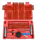 57pc Tire Repair Kit DIY Flat Tire Repair Car Truck Motorcycle Home Plug Patch-by NANSY