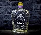 Crown Royal Whisky Personalized Engraved