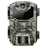 Victure Trail Game Camera 16MP 1080P Full HD with Waterproof Clamshell Design No Glow Hunting Camera with Night Vision Motion Activated for Wildlife Watching