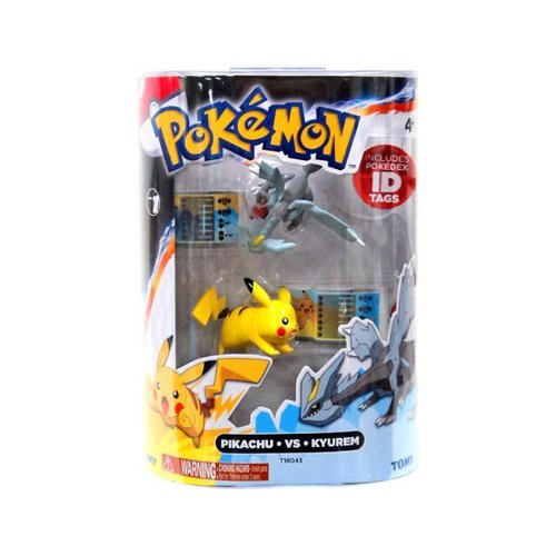 promociones de descuento Pokemon Series 1 Pikachu vs Kyurem Action Figure Figure Figure 2-Pack by Pokemon negro & blanco Toys & Action Figures  80% de descuento