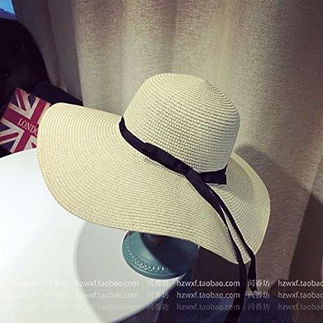 Xing Han Sombrero De Playa Sombrero De Paja Sombrero Gorra ...