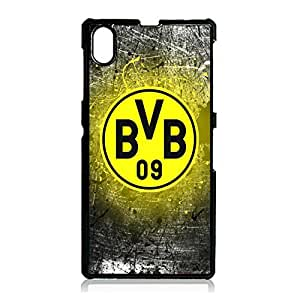 Artistic Creative Borussia Dortmund FC Phone Accessories for Sony Xperia Z1 Football TeamDortmund Logo Image Phone Case