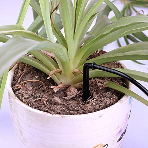 Bureze 10pcs Bend Arrow Dripper Drops Micro Drip Irrigation Emitters Home Garden Pot Flower Succulent Plants Watering Parts