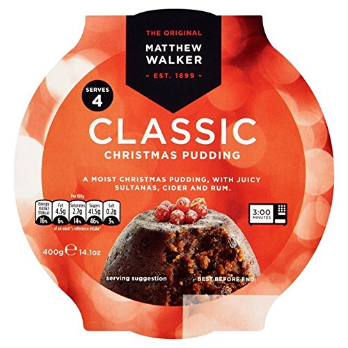 Matthew Walker Classic Pudding 400g (14.1oz)
