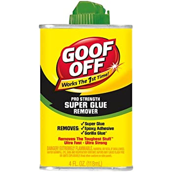 Goof Off Fg677 Super Glue Remover 4 Ounce Paint