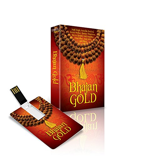 Price comparison product image Music Card: Bhajan Gold (175 SONGS) (320 Kbps MP3 Audio) USB Memory Stick