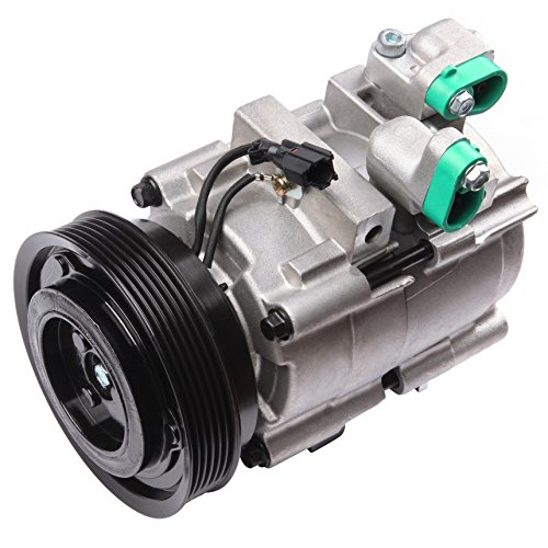 TUPARTS Air Conditioning Compressor and Clutch Assembly Replacement for Hyundai Santa Fe Kia Amanti 2001-2006