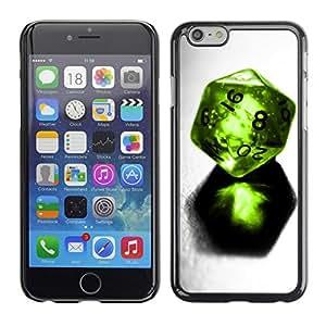 Cubierta de la caja de protección la piel dura para el Apple iPhone 6PLUS (5.7) - Fight For Kisses Funny