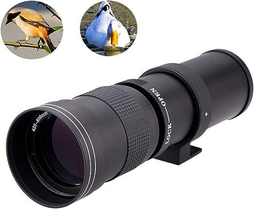 Súper teleobjetivo de 420-800 mm, pequeño y portátil Lente de ...