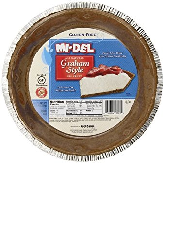 Mi-Del Gluten Free Pie Crust, Graham Style, 7.1 Ounce Package (Graham Cracker Pie)