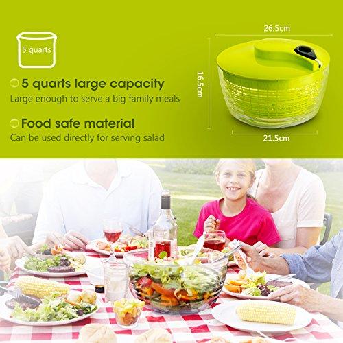 washing machine salad spinner