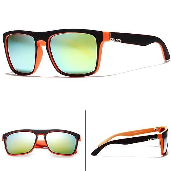 BEESCLOVER Men Fashion Sports Polarized UV400 Outdoor Sunglasses