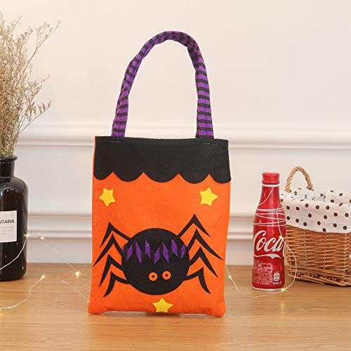 ATOLY Spider Halloween Bag Basket Trick Or Treat