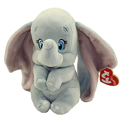 "Ty Beanie Baby - Dumbo The Elephant - 6"": Toys & Games"