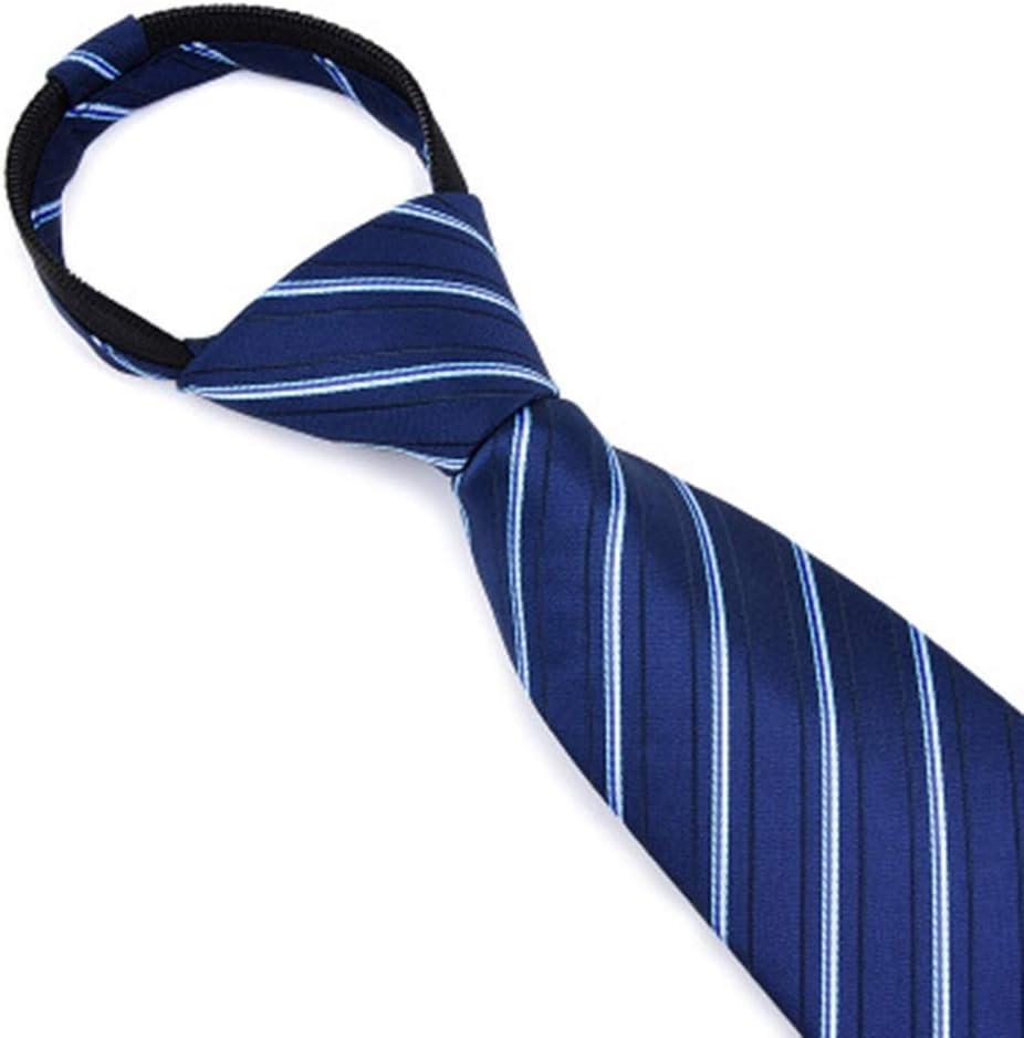 KIUE Business Dress - Corbata de Hombre de 8 cm con Cremallera y Corbata para Negocios 5 M: Amazon.es: Hogar