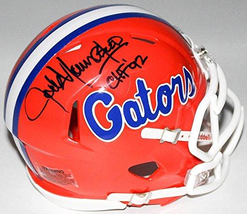 - Jack Youngblood Signed Florida Gators Throwback Mini Helmet Inscribed