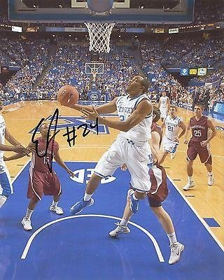 Edrick Floreal signed Kentucky Wildcats basketball 8x10 photo w/coa - Autographed College Photos