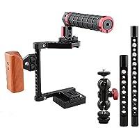 CAMVATE DSLR Camera Cage Kit for Cameras Canon 600D,Panasonic GH5, Nikon D810, Fujifilm X-T2