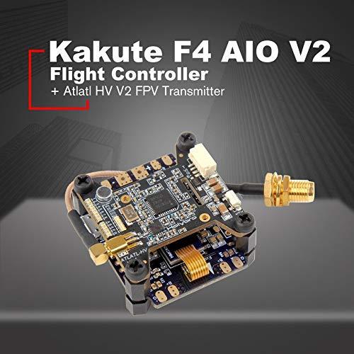 Wikiwand Holybro Kakute F4 AIO V2 Flight Controller OSD+Atlatl HV 5.8G 40CH Transmitter by Wikiwand (Image #2)