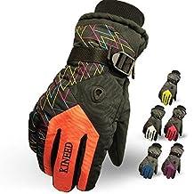 Men Warm Waterproof Ski Gloves Beam Cuff Ski Gloves Waterproof Motorcycle Gloves