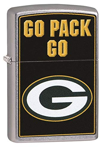 Zippo 2019 NFL Lighters (Green Bay Packers) (Green Bay Packers Zippo Lighter)