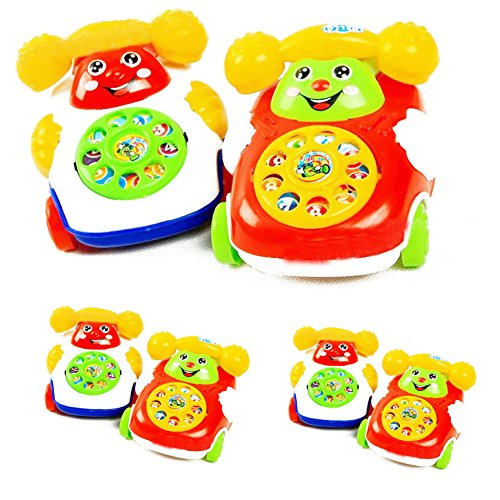 Marketworldcup-201X Baby Toys Music Cartoon Phone Educational Developmental Kids Toy Gift New