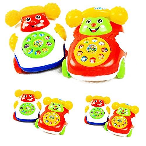 Marketworldcup-201X Baby Toys Music Cartoon Phone Educational Developmental Kids Toy Gift - Amazon Vouchers My